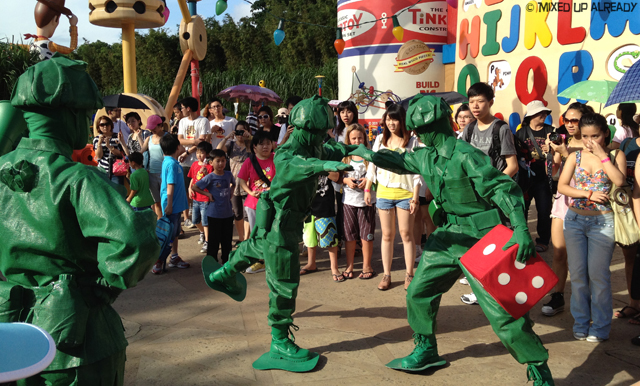 Disneyland Hong Kong - Toy Story Land - Toy Soldier Boot Camp