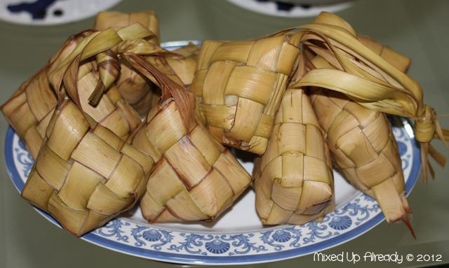 Eid Mubarak (Lebaran) - Food - Ketupat