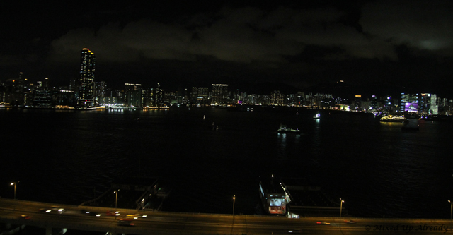 Hong Kong trip - Hong Kong Harbour - A View from Ibis Hotel North Point