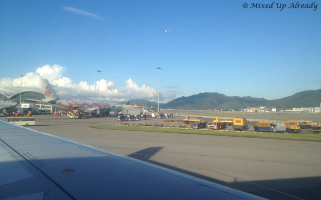 Hong Kong trip - Hong Kong International Airport - Touchdown
