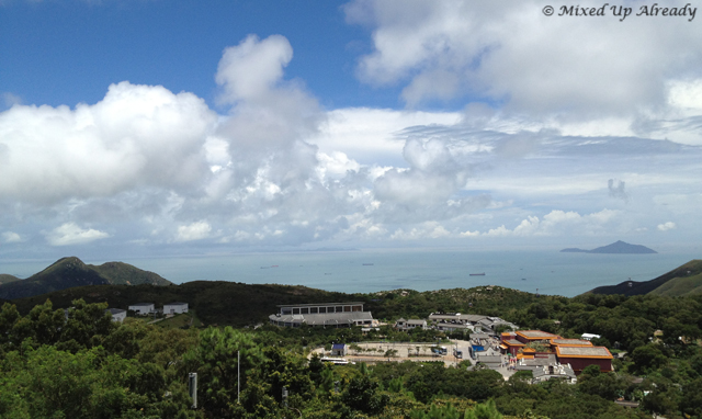 Hong Kong trip - Lantau Island - Ngong Ping Village - A view from The Buddha area (1)
