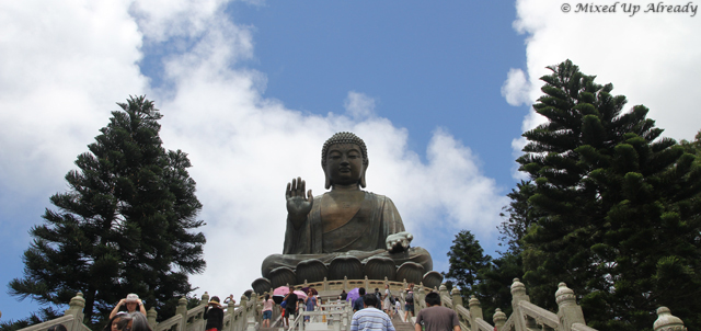 Hong Kong trip - Lantau Island - Ngong Ping Village - Tian Tan Buddha