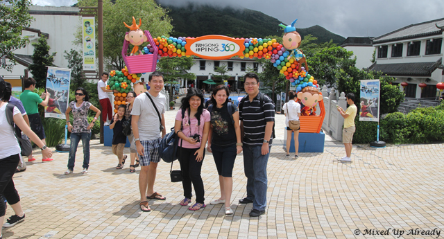Hong Kong trip - Lantau Island - Ngong Ping Village - Welcome