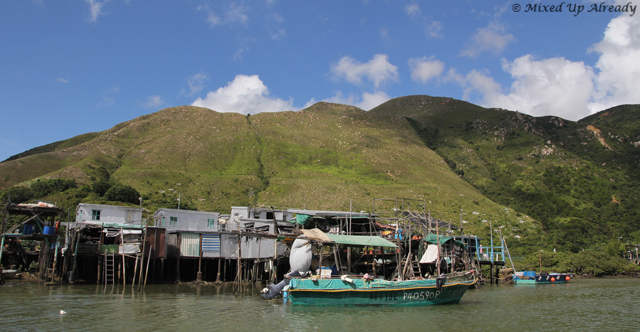 Hong Kong trip - Lantau Island - Tai O Village - Stilt house