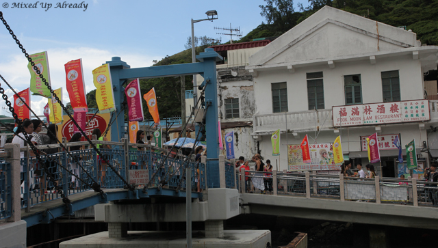Hong Kong trip - Lantau Island - Tai O Village - The bridge