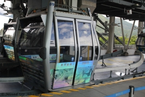 Hong Kong trip - Ngong Ping 360 Cable Car - Crystal Cabin