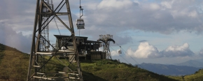 A cable car experience to LantauIsland