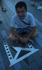 Hong Kong trip - Tsim Sha Tsui Waterfront - The Avenue of Stars - Jackie Chan