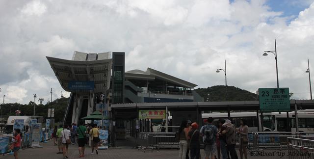 Hong Kong trip - Tung Chung Cable Car Terminal