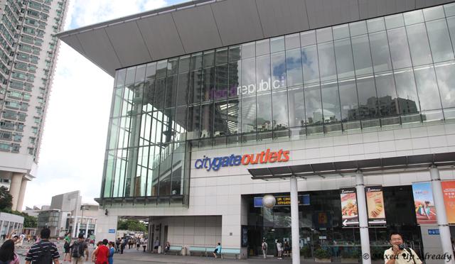 Hong Kong trip - Tung Chung - Citygate Outlets