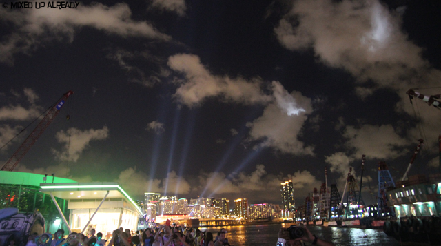 Hong Kong trip - Victoria Harbor - Symphony of Light