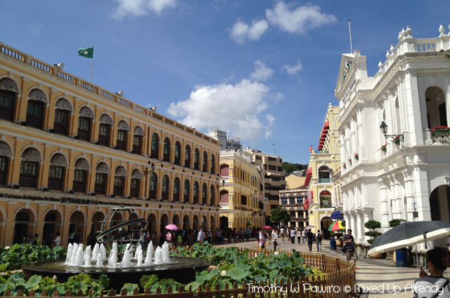 Macau trip - Senado Square (Largo do Senado)