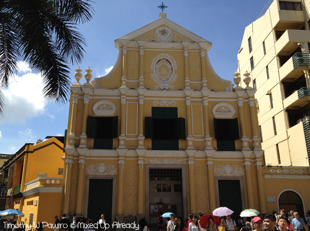 Macau trip - St. Dominic's Church