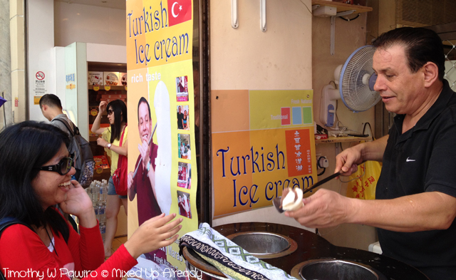 Macau trip - The Delicious Turkish Ice Cream