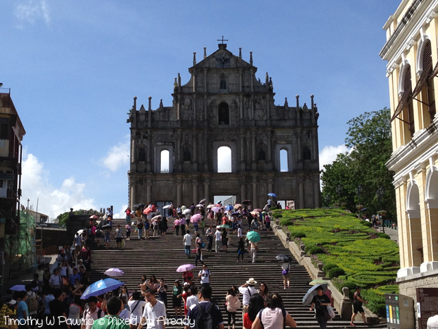 Macau trip - The Ruins of St. Paul's
