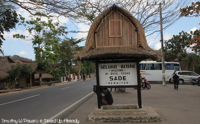 Lombok trip - Desa Sade - Welcome