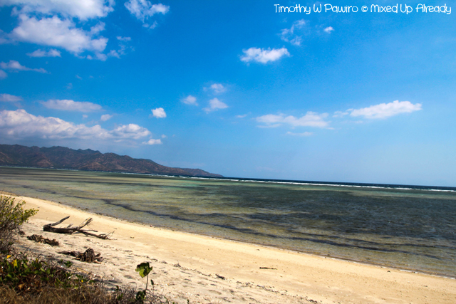 Lombok trip - Gili Air - A beach at the other side of the island