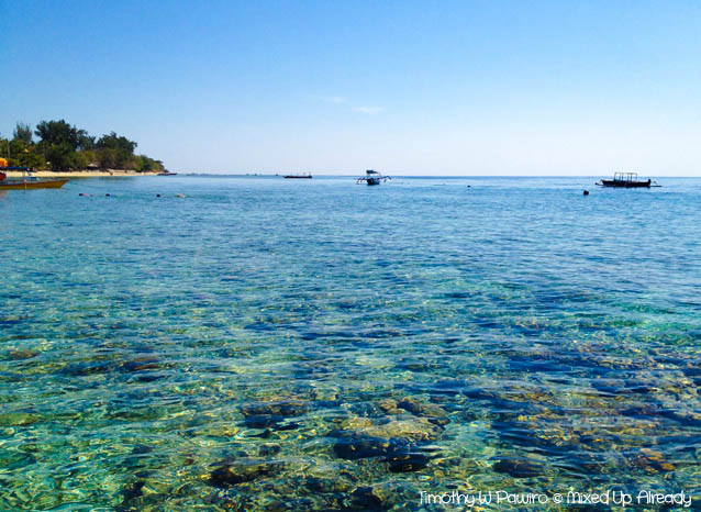 Lombok trip - Gili Air - The coral reef of Gili Air