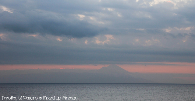 Lombok trip - Senggigi beach - Gunung Agung (Sunset at Batu Layar)
