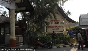 Lombok trip - Senggigi beach - Senggigi Beach Hotel