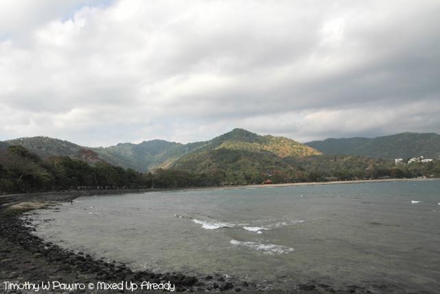Lombok trip - Senggigi beach