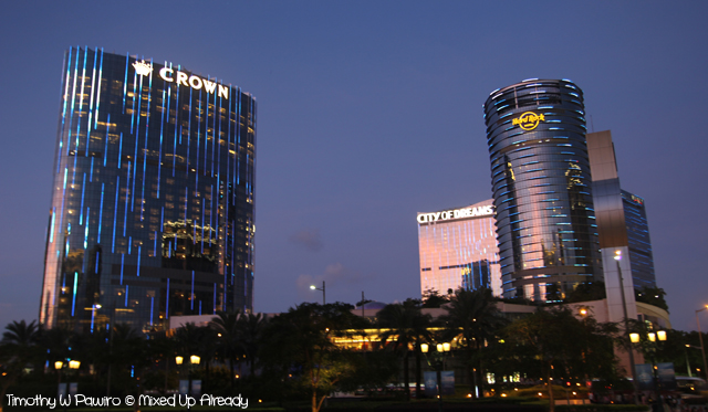 Macau trip - Crown, Hard Rock, and City of Dreams