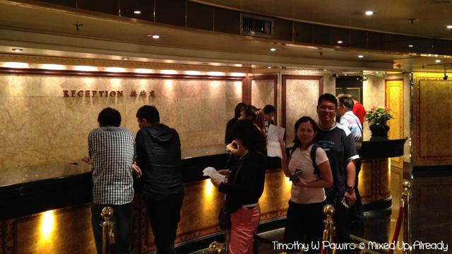 Macau trip - Grand Lisboa - Lobby