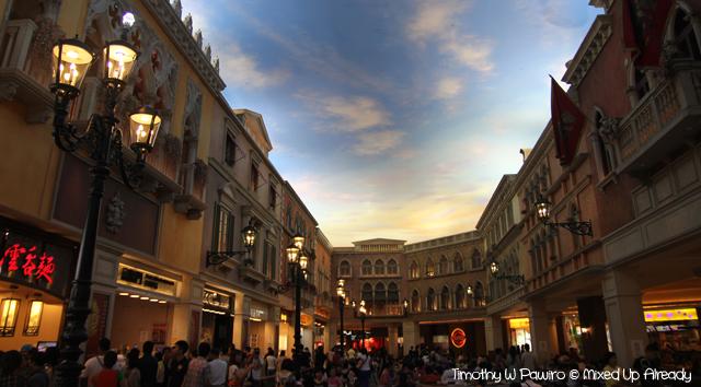Macau trip - Venetian Macao - Food court