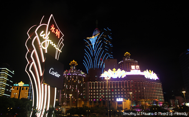 Macau trip - Wynn and Grand Lisboa