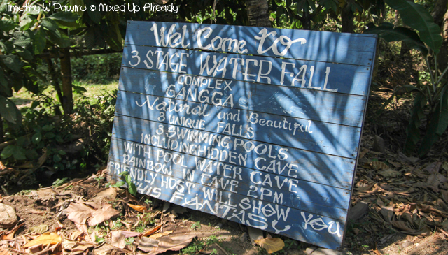 Lombok Gangga trip - Welcome to Gangga waterfall
