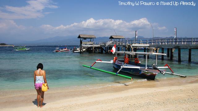 Lombok slomo trip - Gili Trawangan - On the beach