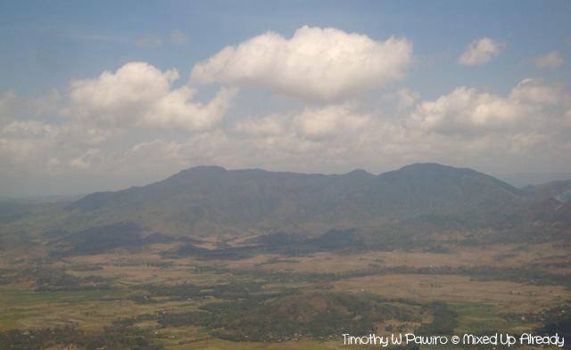 Lombok slomo trip - Lombok from above