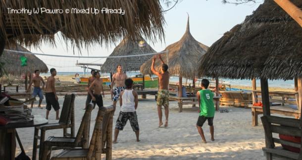 Lombok trip - Gili Trawangan - Beach Volleyball