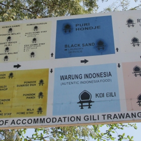 Gili Trawangan, a great place to relax … ;)