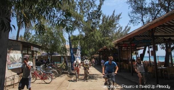 Lombok trip - Gili Trawangan - Cycling