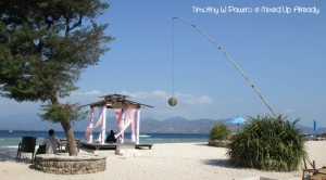 Lombok trip - Gili Trawangan - Relax on the beach