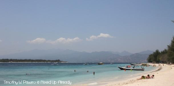 Lombok trip - Gili Trawangan - Sunbathing