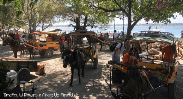 Lombok trip - Gili Trawangan - The cidomo
