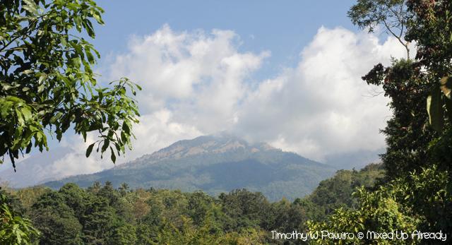 Senaru Lombok trip - Mount Rinjani from afar
