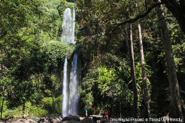 Senaru Lombok trip - Sendang Gile (Sendang Gila) waterfall