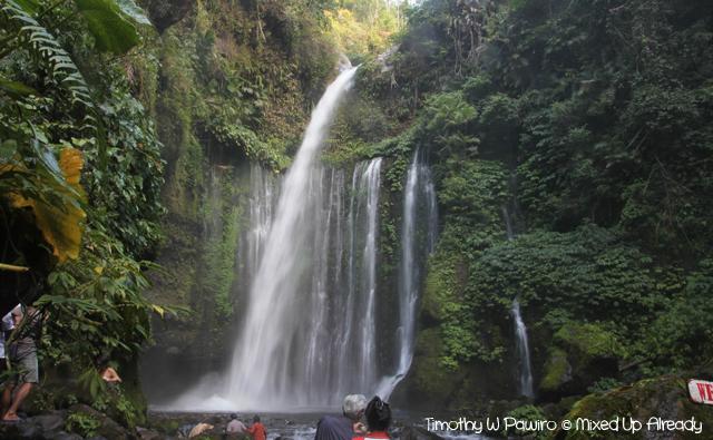 Senaru Lombok trip - Tiu Kelep waterfall
