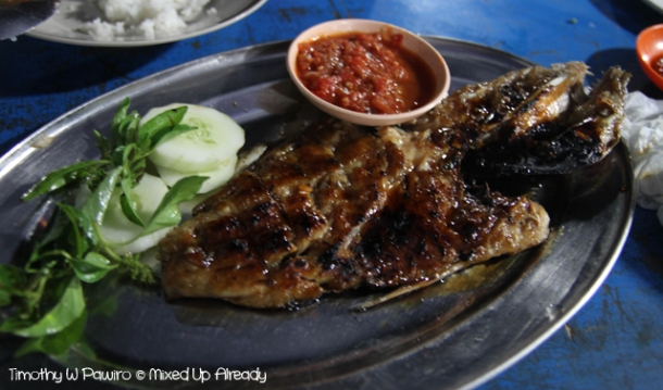 Senggigi - Cafe Tenda Cak Poer - Grilled Fish
