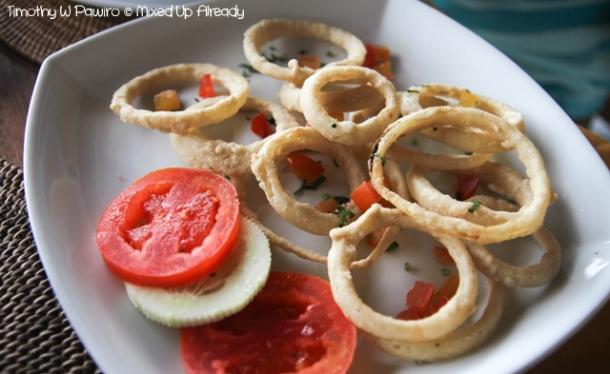 Senggigi - Eating - Cafe Alberto - Onion Rings