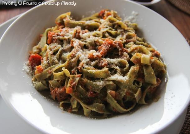 Senggigi - Eating - Cafe Alberto - Tagliatelle al Ragu