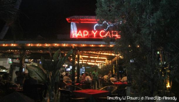 Senggigi - Eating - Happy Cafe