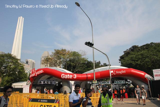 Formula 1 Singapore Grand Prix 2012 - Entrance
