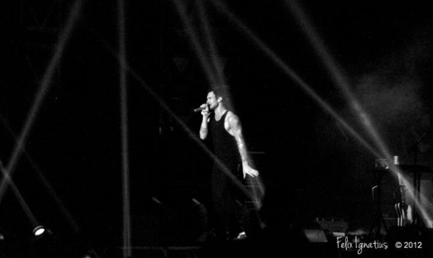 Formula 1 Singapore Grand Prix 2012 - Maroon 5
