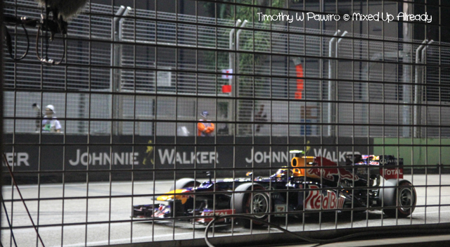 Formula 1 Singapore Grand Prix 2012 - The car (1)