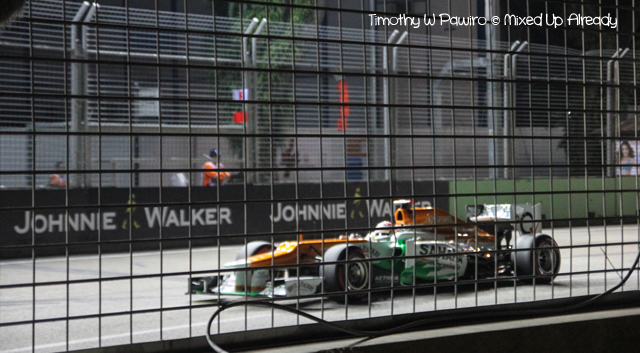 Formula 1 Singapore Grand Prix 2012 - The car