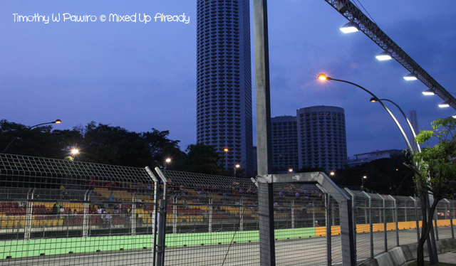 Formula 1 Singapore Grand Prix 2012 - The night race circuit